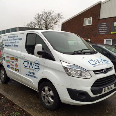 Custom Vehicle Livery Service