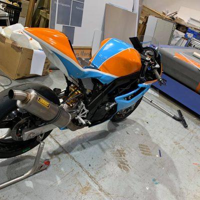 Motorbike Wrap